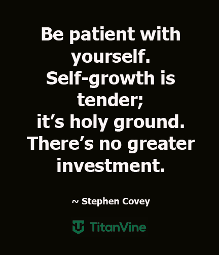 An Inspiring Quote from Stephen Covey