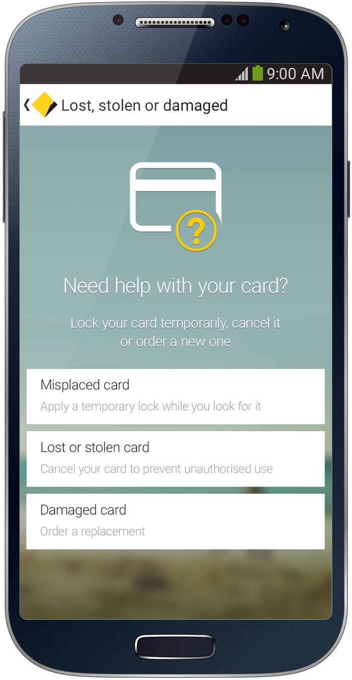 CommBank app can lock misplaced credit cards and reactivate when ...